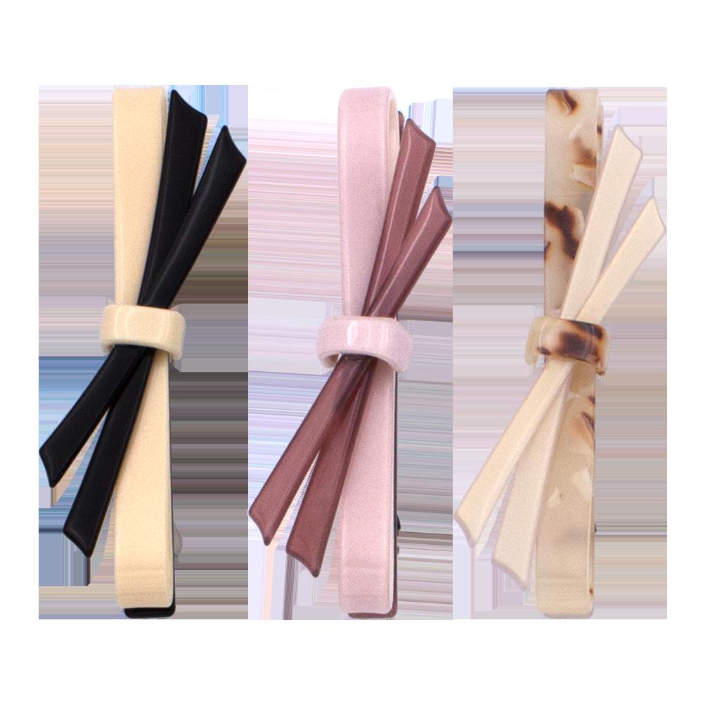 A&A Hair Beauty Haarschmuck Haarklammer Haarklemme Spange Klammer Patentspange Haarspange marmoriert