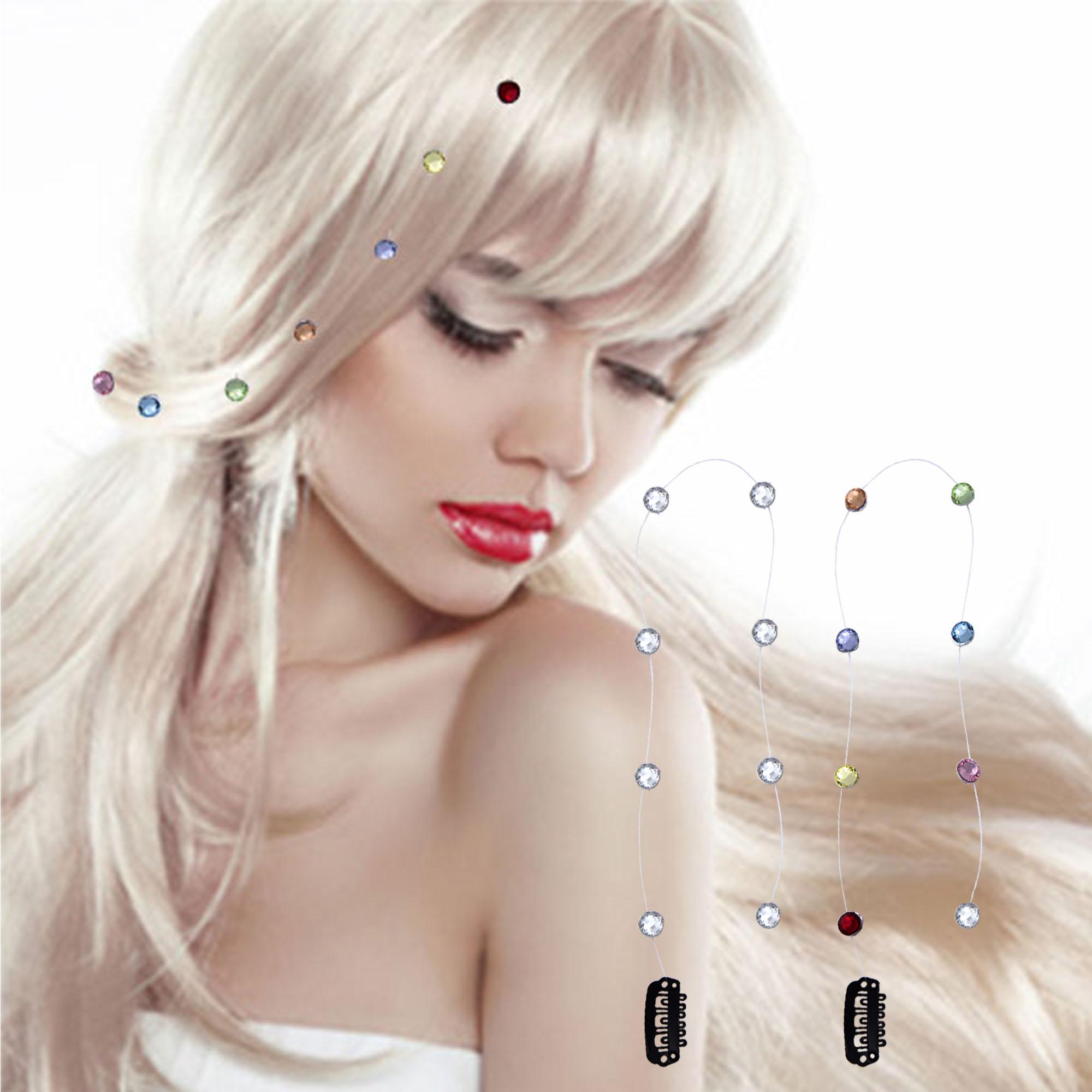 A&A Hair Beauty Haar Clip - In Extension Hairextensions Hairclip Clip Clips Strähnen Toupet Kämmchen