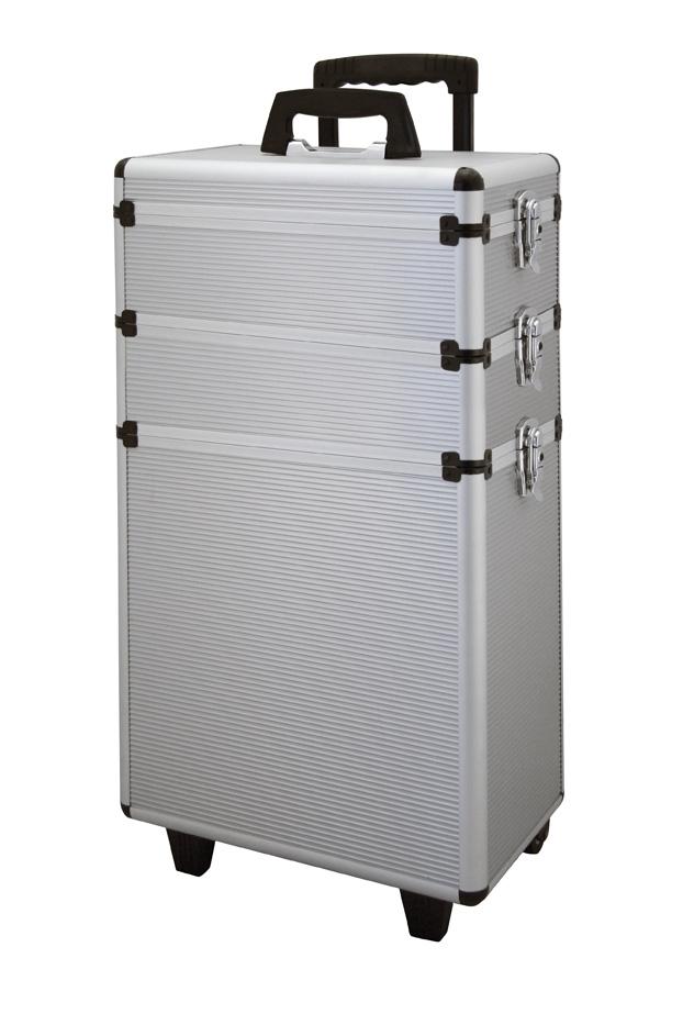 WZK Aluminium dreiteilig slb      70x36x22 cm Werkzeugkoffer