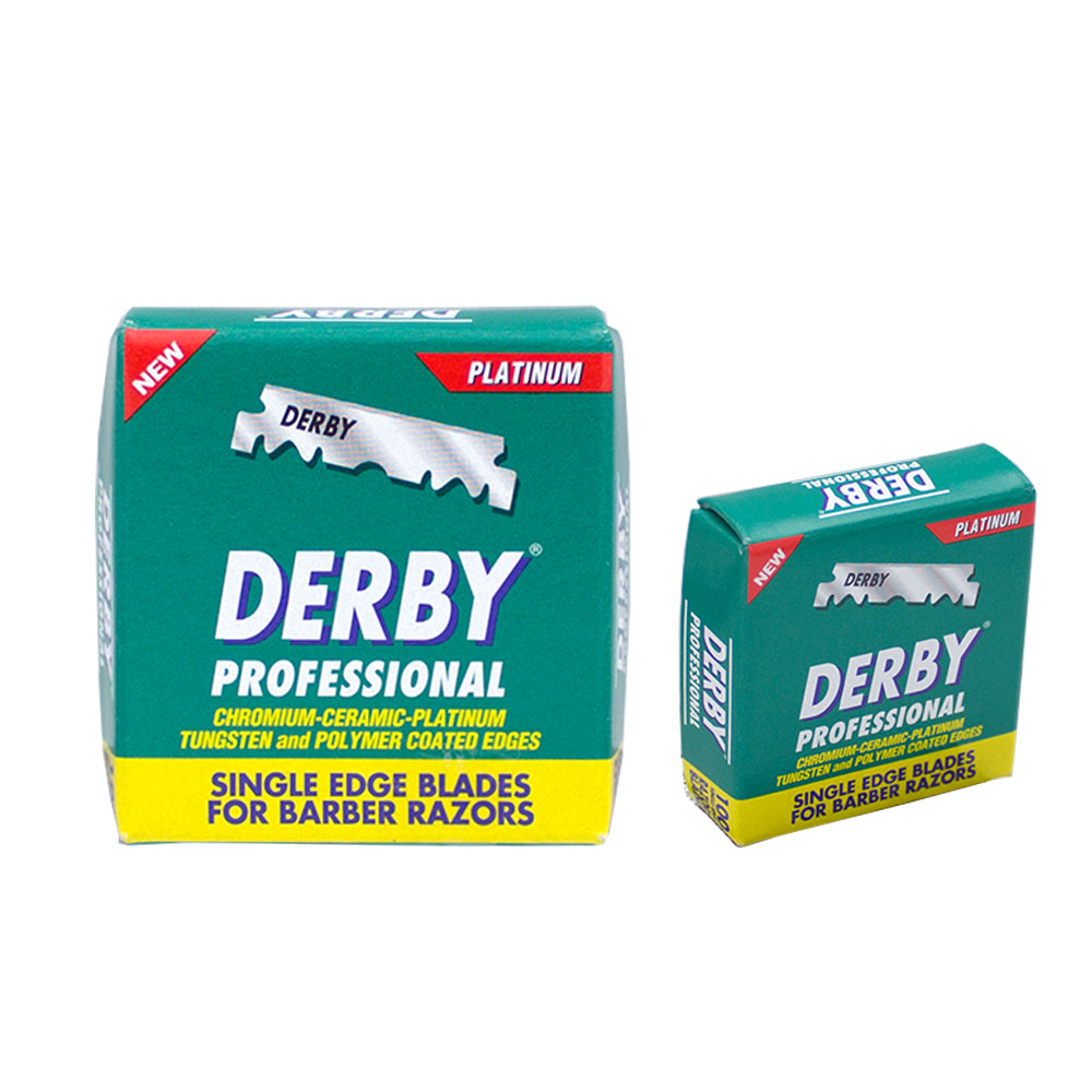 Derby Professional Rasierklingen Berber Barber 100er Packung
