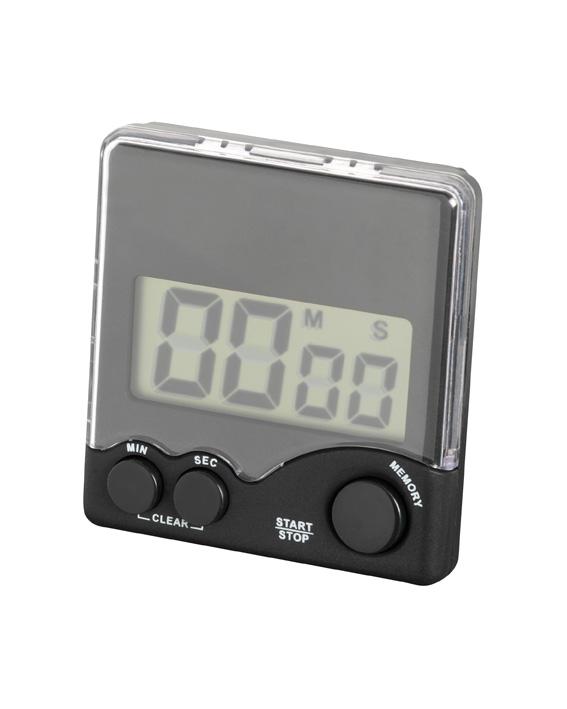 Digitaltimer Clip 0-99min, inkl. Batterie, sz