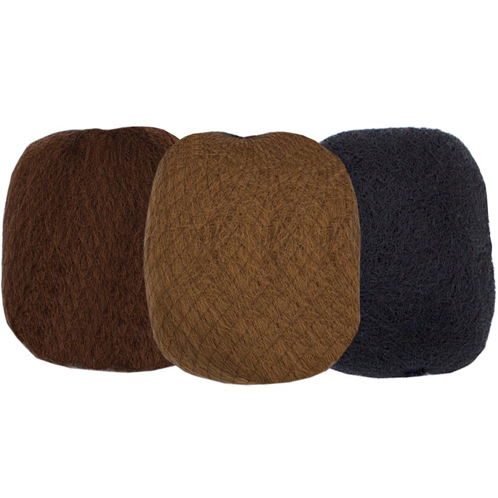 Haarunterlage Haarkissen Haarknoten Zellwolle Knotenkissen Volumen für Hochsteckfrisur