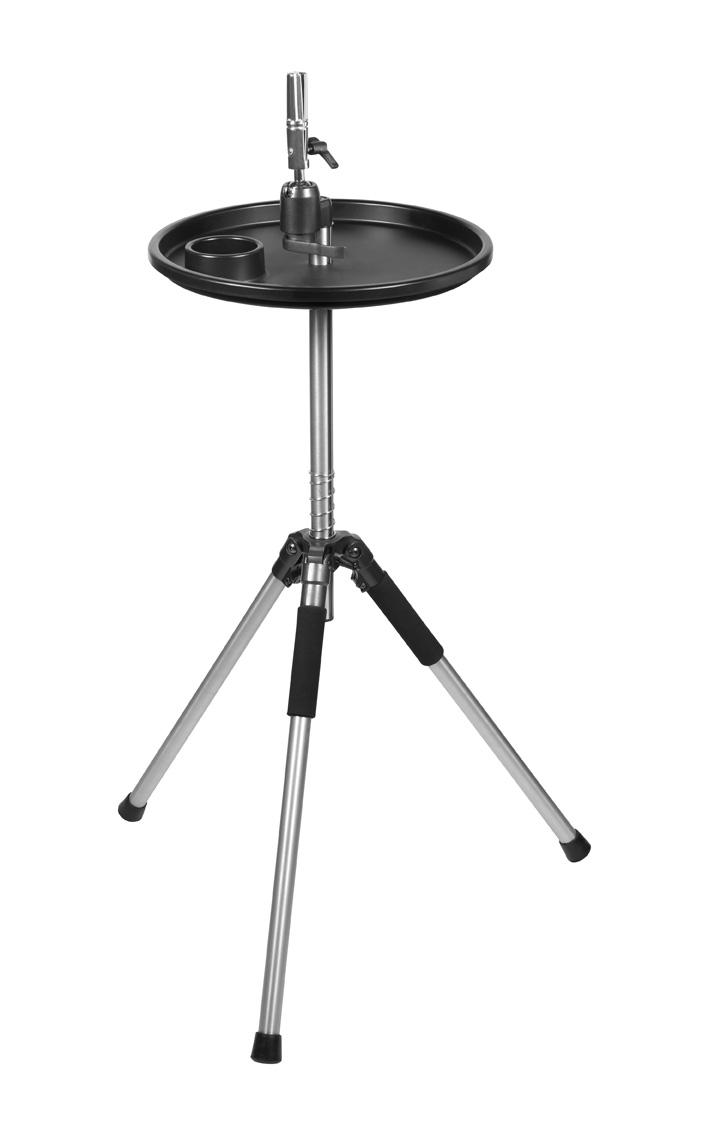 Üb.kopfhalter Deluxe Stativ m.Geräteablg. verst.89-126cm Übungskopfhalter
