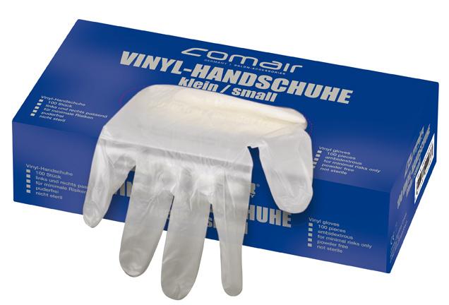 VH groß puderfrei 100er Box       Vinyl Handschuhe