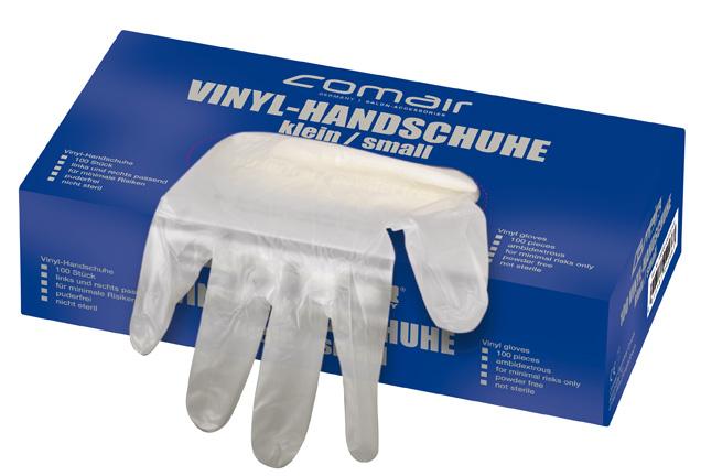 VH mittel puderfrei 100er Box     Vinyl Handschuhe