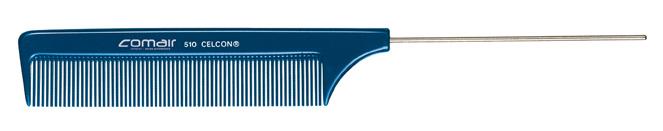 Nadelstielkamm, fein, 510 Blue    Profi Line
