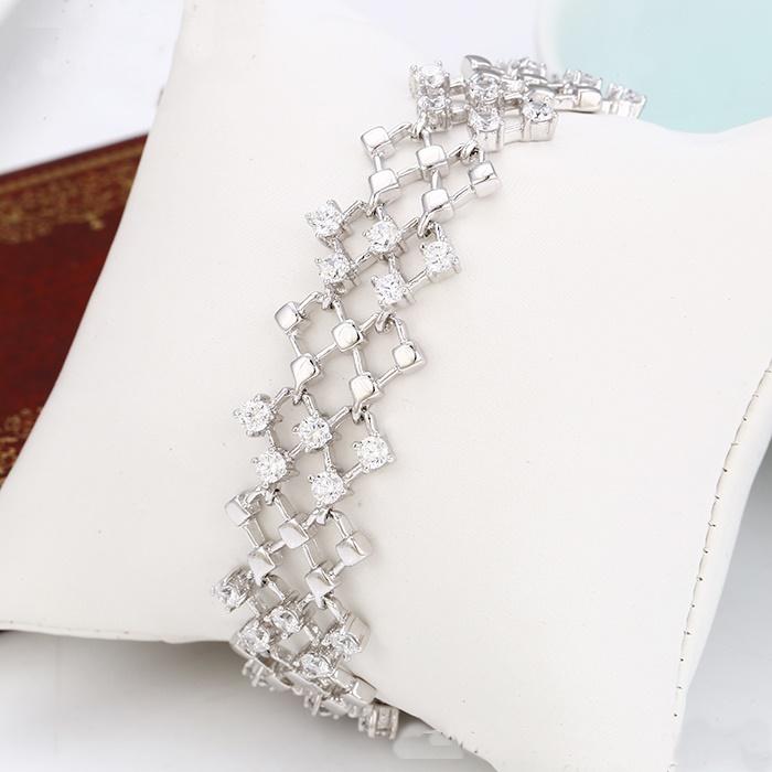 Neu: Modeschmuck Xuping Armband Strass 19 - 21 cm