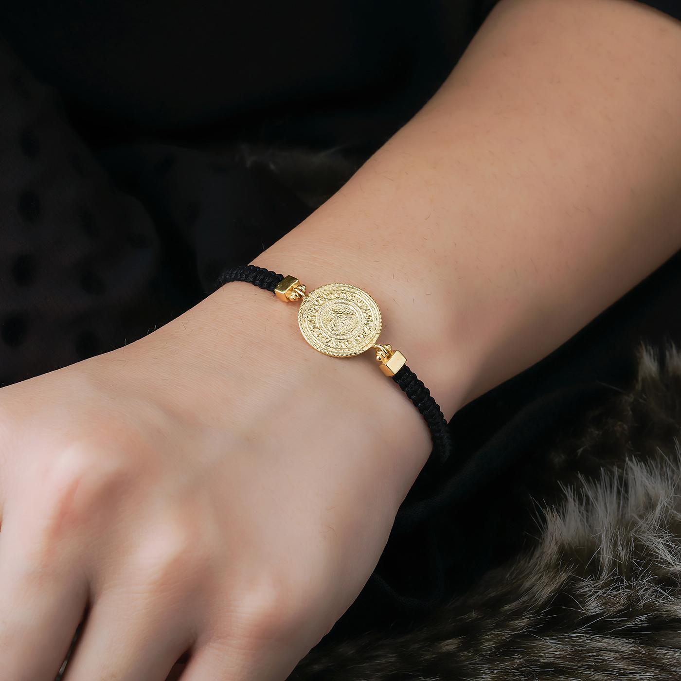 ALMIRA 925 Sterling Silber Damen Armband Osmanisch Silberschmuck