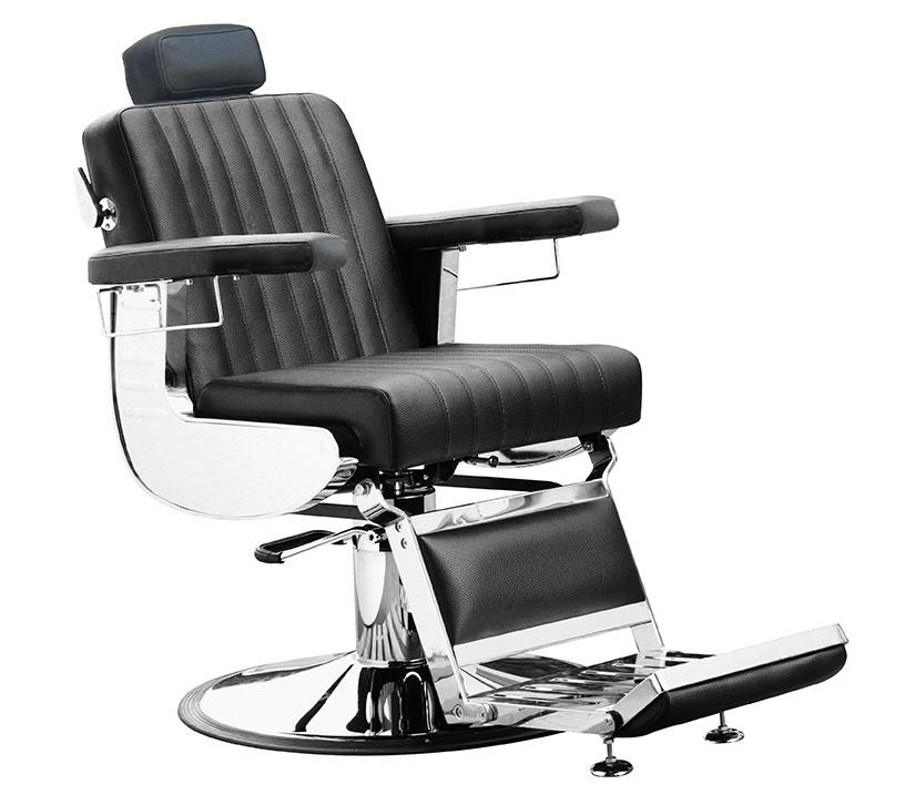 BS Herren Diplomat Deluxe schwarz Barber Chair Farbe 63