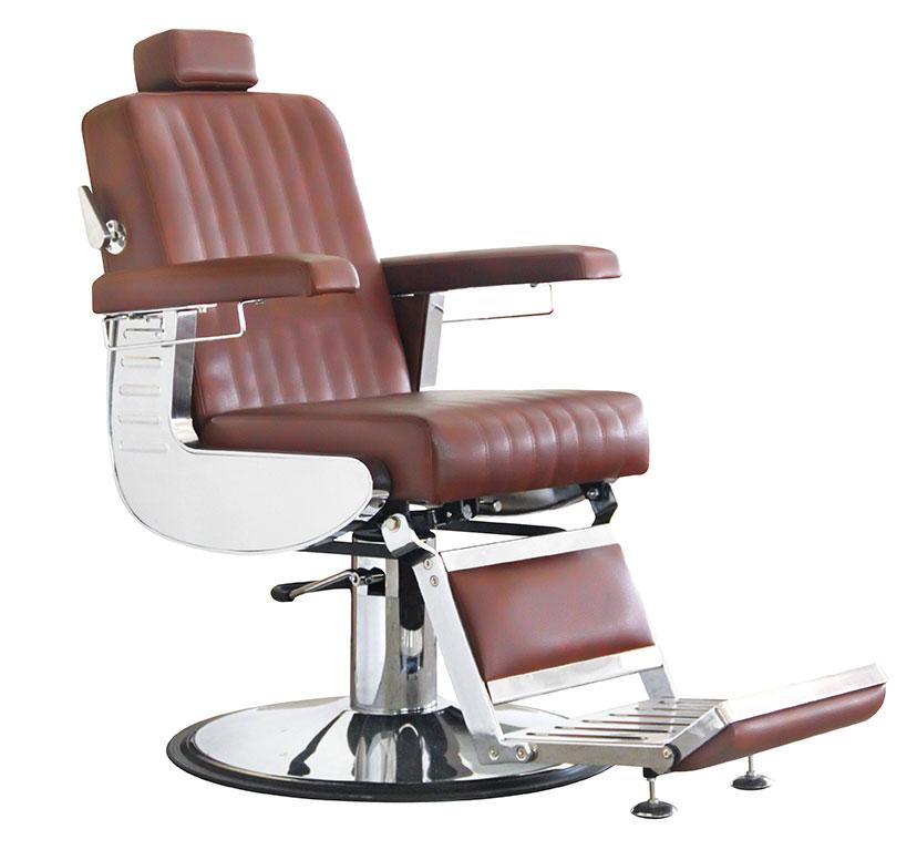 BS Herren Diplomat cognac-braun   Barber Chair Farbe 65