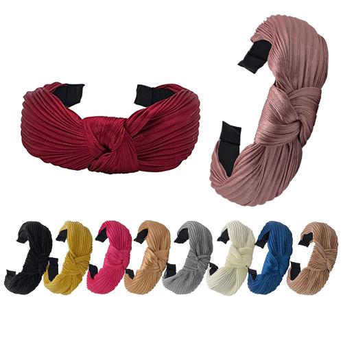 Haarreifen mit Knoten breit
