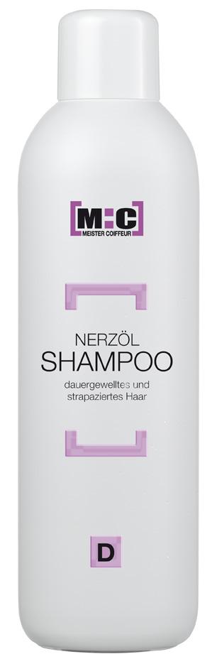 M:C Shampoo Nerzöl 1000ml für dauergewelltes/strapaziertes Haar