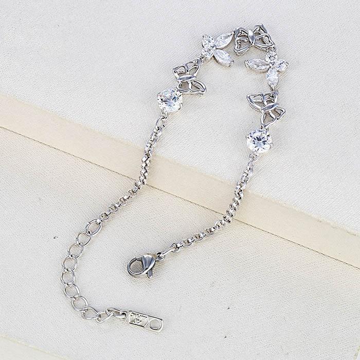 Modeschmuck Xuping Armband  Strass 21 - 23 cm