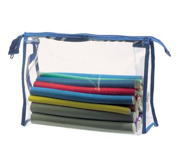 Flex-Wkl. Set 24 Wickler 3St grün,gelb,rot,blau je 4 orange,grau,lila