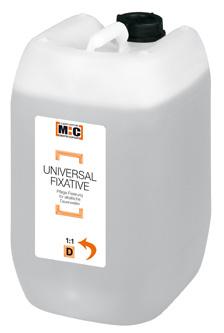 M:C Universal Fixierung 1:1 10l          Fixative 10 Liter