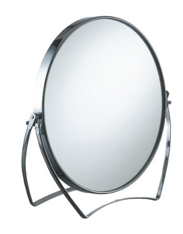 Kosmetikspiegel m.Vergrößerung    beids. 17cm 2fach