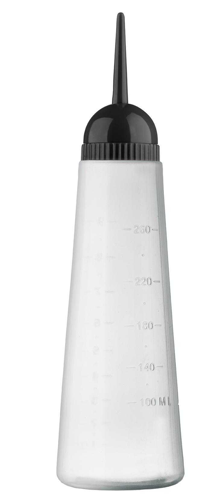 Auftrageflasche 260ml mit bewegl. Applikatorspritze