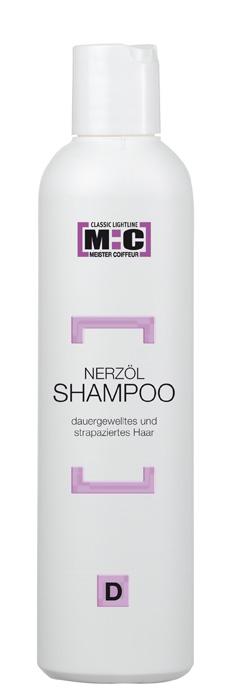 M:C Shampoo Nerzöl 250ml für dauergewelltes/strapaziertes Haar