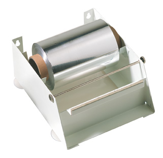 Dispenser f. Alufolie Metall 250m Rolle