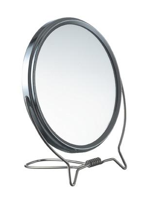 Kosmetikspiegel m.Vergrößerung    beids. 13cm 3fach
