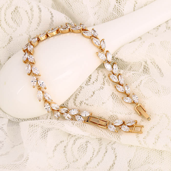 Modeschmuck Xuping Armband 17 - 19 cm