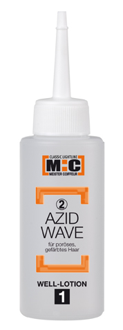M:C Azid Well-Set 2 poröses/gefärbtes Haar Lotion 62ml,Fix.75ml,Konzentrat 10ml