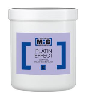 M:C Platin Effekt Blondierpulver blau    5x400g