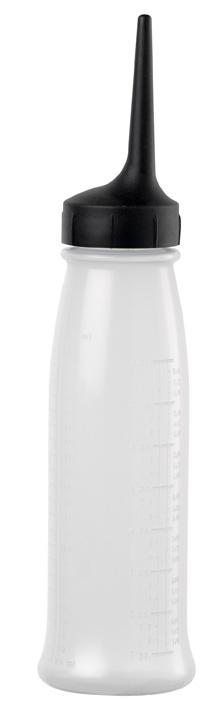 Auftrageflasche transp. 240ml groß