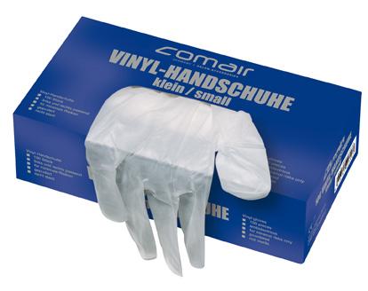 VH klein gepudert 100er Box       Vinyl Handschuhe