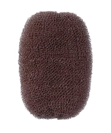 Haarvollunterlage braun 7x11cm 14g