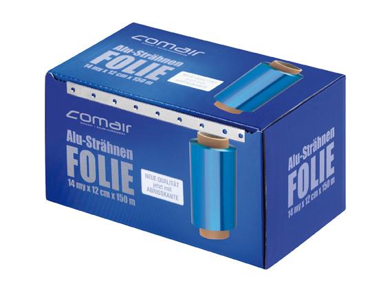 Alufolie 14µ blau 12cmx150m Rolle